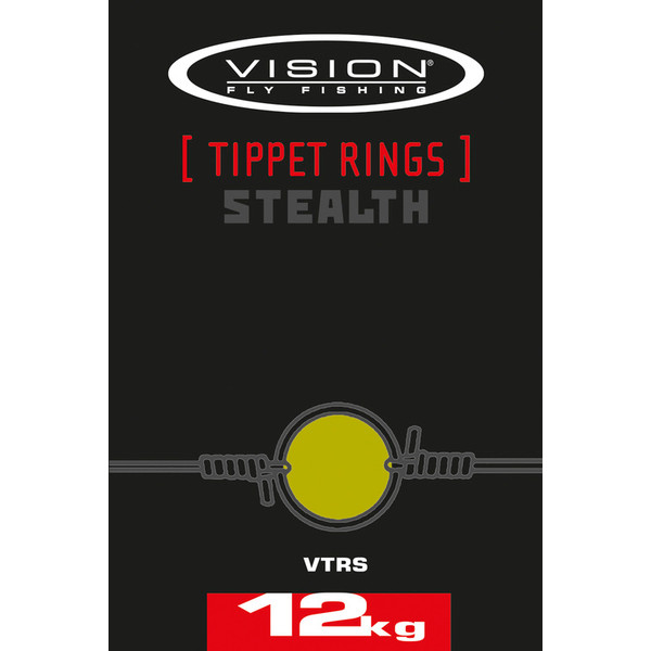 Vision STEALTH TIPPET RINGS, SMALL 12KG