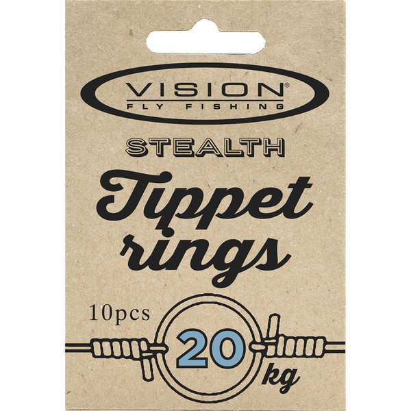 Vision TIPPET RINGS, BIG 20KG