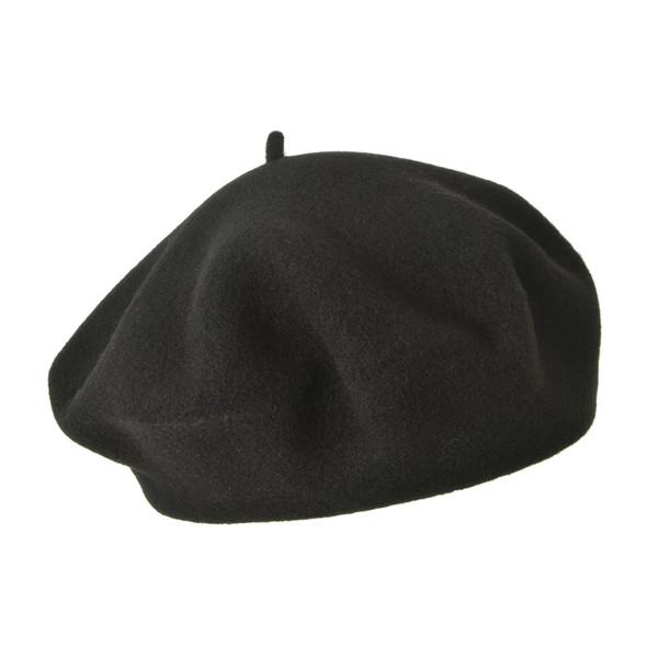 Seeberger BOILED WOOL BERET Unisex - Hatt
