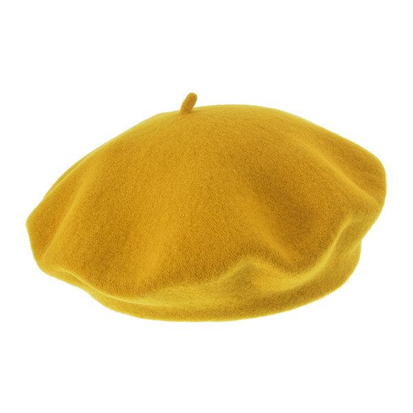 Seeberger BOILED WOOL BERET Unisex