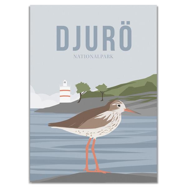 Naturkompaniet DJURÖ NATIONALPARK POSTER