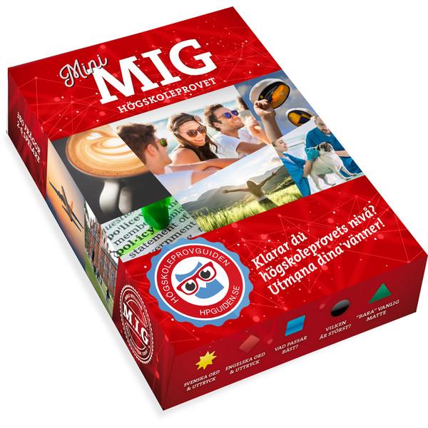 M.I.G. MINI-MIG HÖGSKOLEPROVET