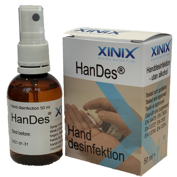 Xinix HANDDESINFEKTION 50ML