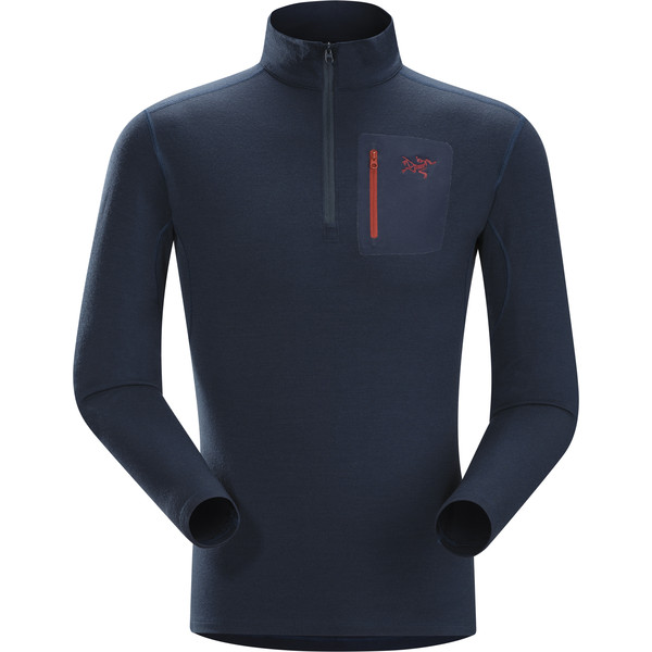 Arc'teryx Rho LTW Zip Neck Männer - Funktionsshirt
