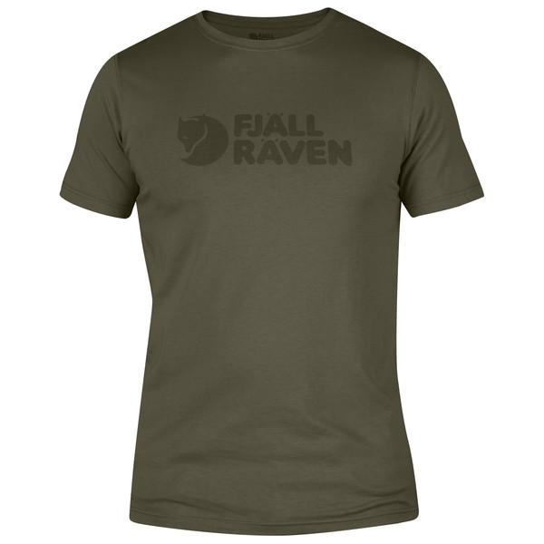 Fjällräven Logo T-shirt Männer - T-Shirt
