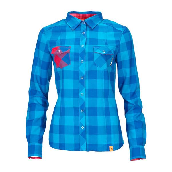 Ortovox Rock'n Wool L/S Shirt Frauen - Outdoor Bluse