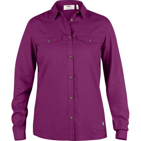 Fjällräven Abisko Vent Shirt L/S Frauen - Outdoor Bluse