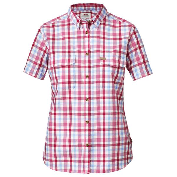Fjällräven Övik Shirt S/S Frauen - Outdoor Bluse