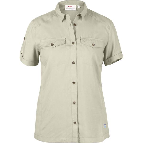 Fjällräven Abisko Vent Shirt S/S Frauen - Outdoor Bluse