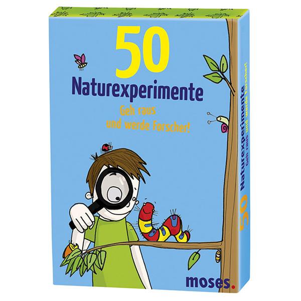 50 Naturexperimente Kinder