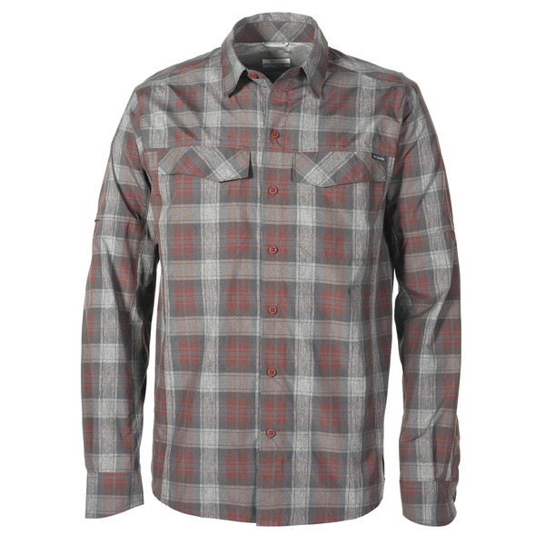 Columbia Silver Ridge Plaid L/S Shirt Männer - Outdoor Hemd