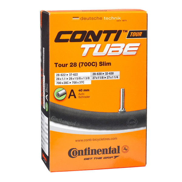 "Continental Fahrradschlauch Tour 28"" 28-37 (AV) - Fahrradschlauch"