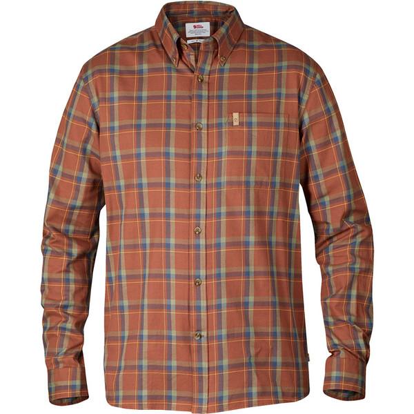 Fjällräven Övik Flannel L/S Shir Männer - Outdoor Hemd