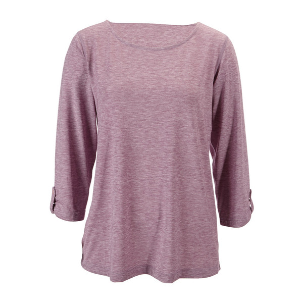 Sherpa Asha 3/4 Knit Shirt Frauen - Funktionsshirt