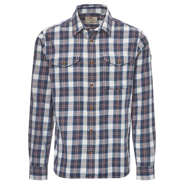 Fjällräven Singi Flannel Shirt LS Männer - Outdoor Hemd