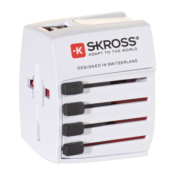 SKROSS World Adapter MUV USB - Reisestecker