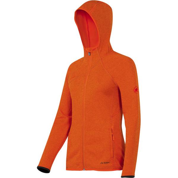 Mammut Get Away Hooded Jacket Frauen - Fleecejacke