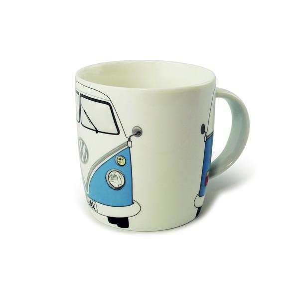 BRISA Kaffeetasse Bulli blau - Campinggeschirr