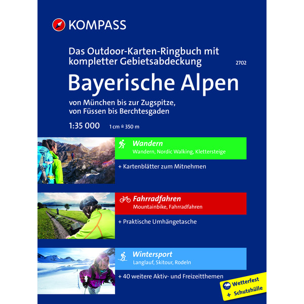 KOMPASS Ringbuch Bayerische Alpen