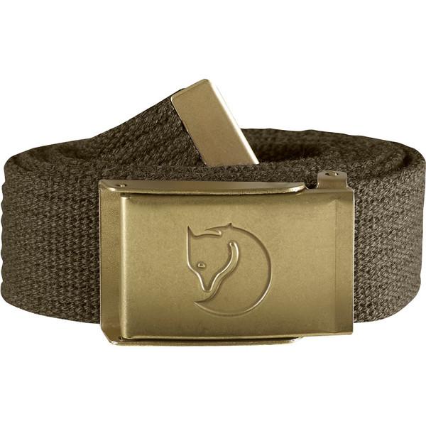 Fjällräven Canvas Brass Belt 3cm Unisex - Gürtel