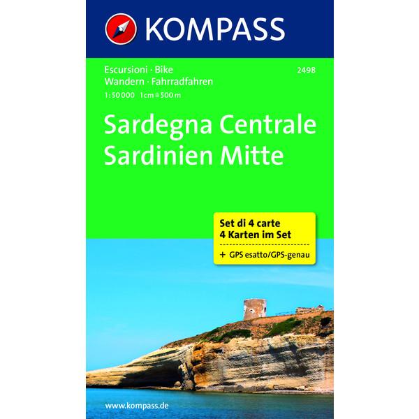 KOKA 2498 Sardinien Mitte 1 : 50 000