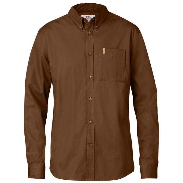 Fjällräven Övik Solid Twill Shirt L Männer - Outdoor Hemd