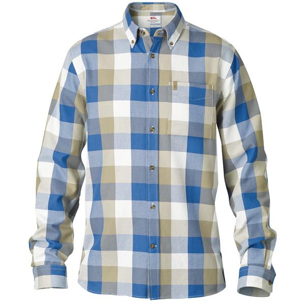 Fjällräven Övik Big Check Shirt L/S Männer - Outdoor Hemd