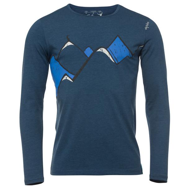 Chillaz Mountain Art L/S Männer - T-Shirt