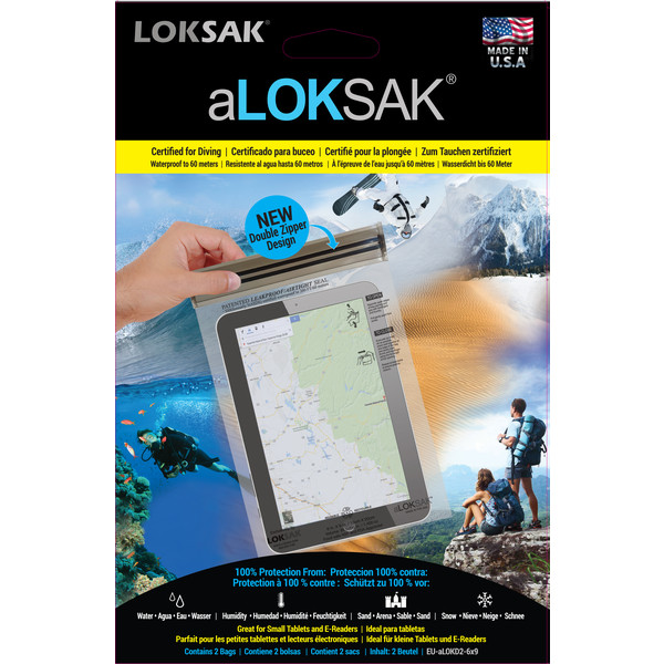 Aloksak Aloksak Set 2 Pcs Small Tablet - Handytasche