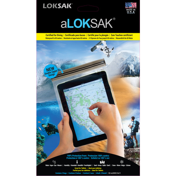 Aloksak Aloksak Set 2 Pcs iPad - Handytasche