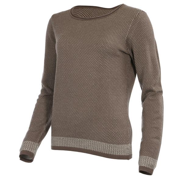 Himalaya Wool R/N Sweater Frauen - Wollpullover