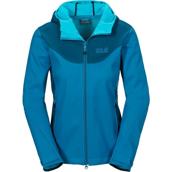 Jack Wolfskin Foggy Mountain Softshell Jacket Frauen - Softshelljacke