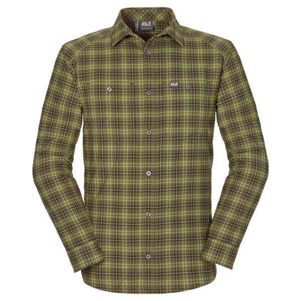 Jack Wolfskin Fraser L/S Shirt Männer - Outdoor Hemd