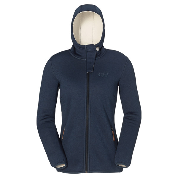 Jack Wolfskin Terra Nova Hooded Jacket Frauen - Fleecejacke