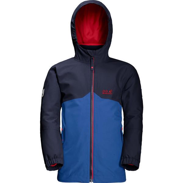 Jack Wolfskin Iceland 3In1 Jacket Kinder - Winterjacke