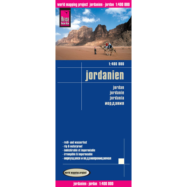 RKH WMP Jordanien 1:400.000