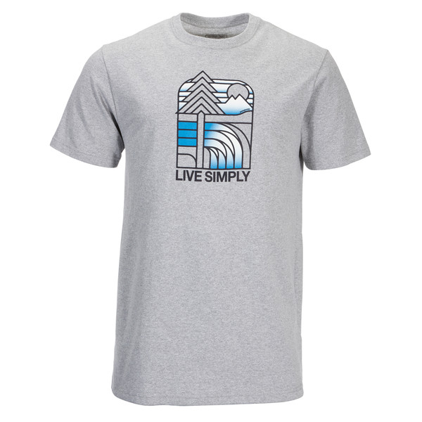 Patagonia Live Simply Landscape Resp. Tee Männer - T-Shirt