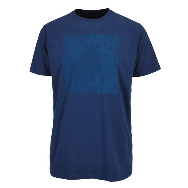 FRILUFTS Glarus Printed S/S Shirt Männer - T-Shirt