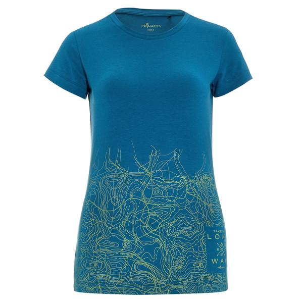 FRILUFTS Glarus Printed T-Shirt Frauen - T-Shirt