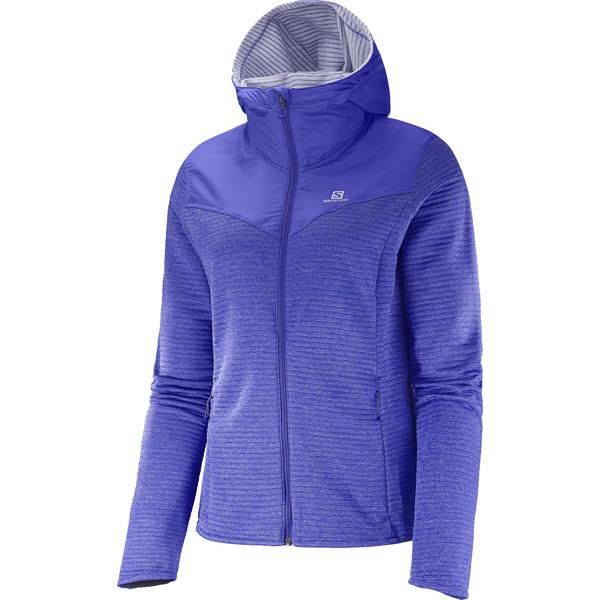 Salomon Elevate Mid Frauen - Fleecejacke