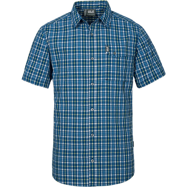 Jack Wolfskin Crossley S/S Shirt Männer - Outdoor Hemd