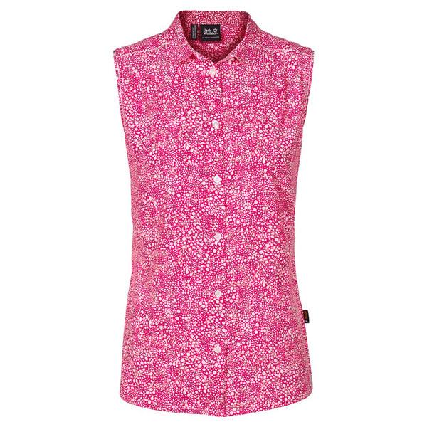 Jack Wolfskin Wahia Print S/L Shirt Frauen - Outdoor Bluse