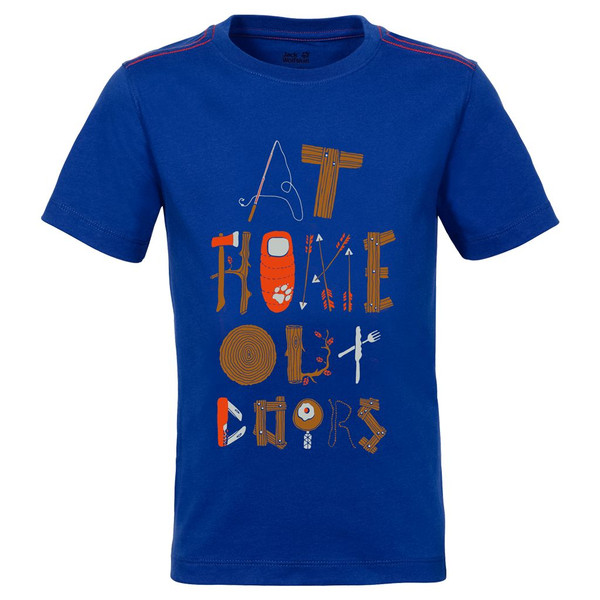 Jack Wolfskin Wilderness Tee Kinder - T-Shirt