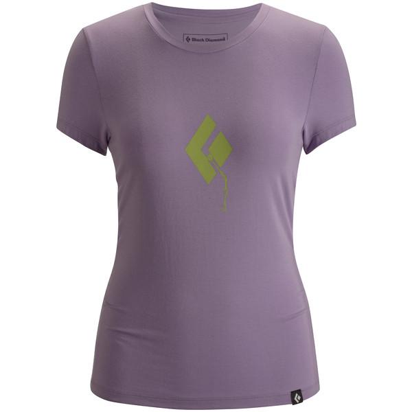 Black Diamond S/S Placement Tee Frauen - T-Shirt