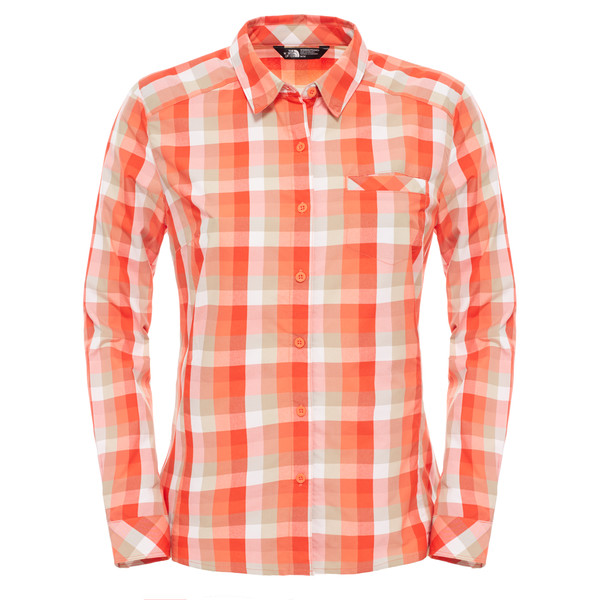 The North Face Zion Shirt L/S Frauen - Outdoor Bluse