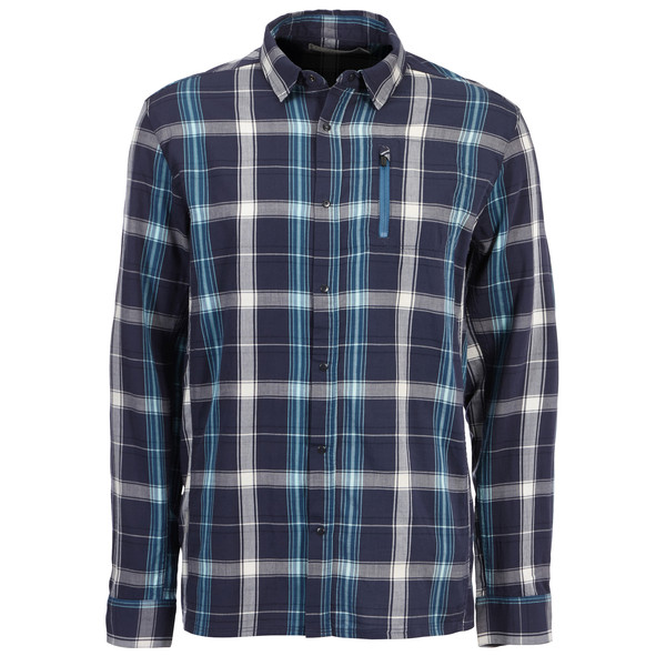 Icebreaker Compass II L/S Shirt Plaid Männer - Outdoor Hemd