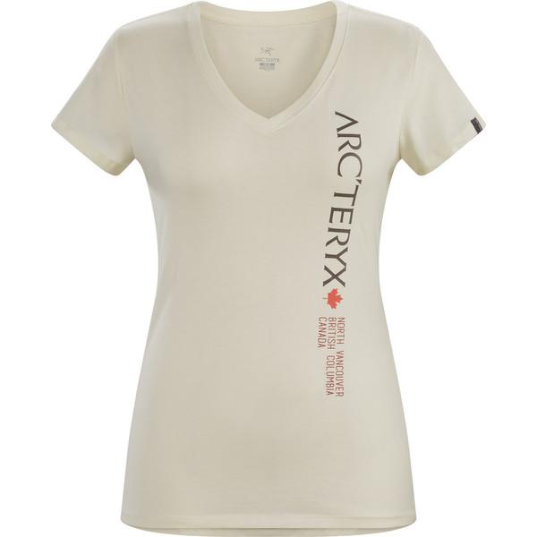 Arc'teryx Vertical SS V-Neck Frauen - T-Shirt