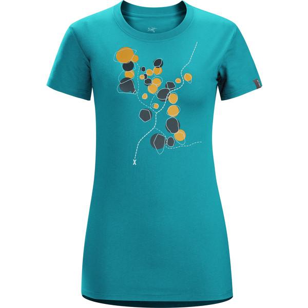 Arc'teryx Boulder Trail SS Crew Frauen - T-Shirt