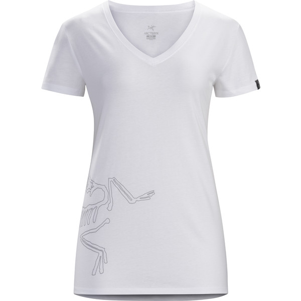 Arc'teryx Big Bird SS V-Neck Frauen - T-Shirt