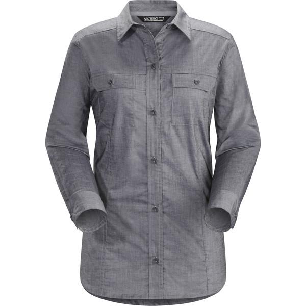 Arc'teryx Ballard LS Shirt Frauen - Outdoor Bluse